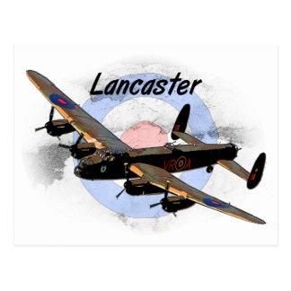 Bombardier de Lancaster Carte Postale