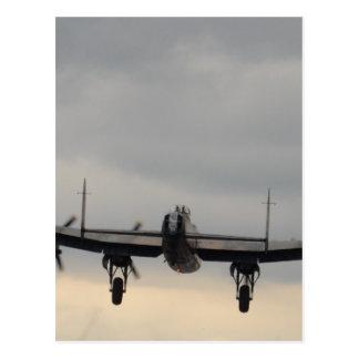 Bombardier de Lancaster par derrière Carte Postale