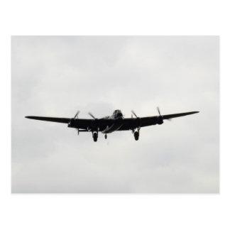 Bombardier lourd d'Avro Lancaster Carte Postale