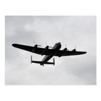 Bombardier lourd de Lancaster Carte Postale