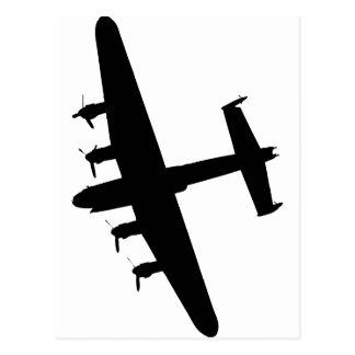 Bombardier RAF de Lancaster Carte Postale