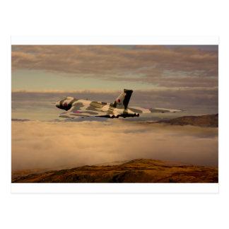 Bombardier XH558 d'Avro Vulcan Carte Postale