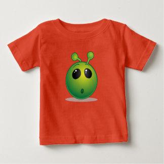 Bon alien de T-shirt du Jersey de bébé