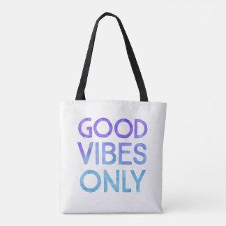 Bon sac fourre-tout quotidien bleu à vibraphone