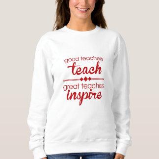 Bon sweatshirt de professeurs