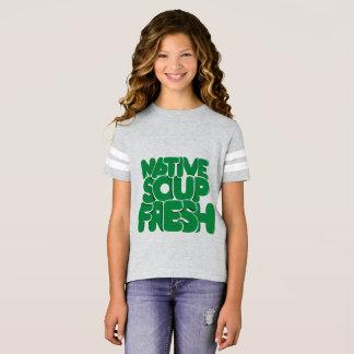 Bon vibraphone, amusement et T-shirt décontracté