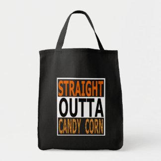Bonbons au maïs droits Halloween drôle à Outta Tote Bag
