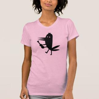 Bonheur d'arc-en-ciel de soleil d'oiseau de t-shirt