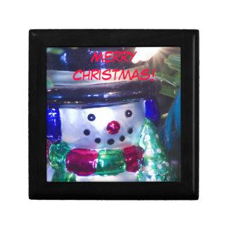 Bonhomme de neige de Joyeux Noël Coffret Cadeau