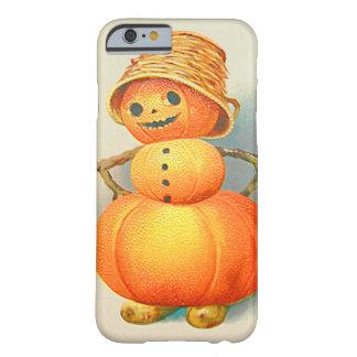 Bonhomme de neige de lanterne de Jack O de Coque Barely There iPhone 6