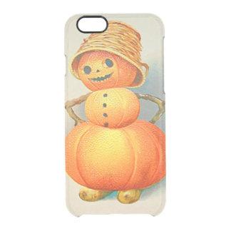 Bonhomme de neige de lanterne de Jack O de Coque iPhone 6/6S