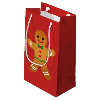 BONHOMME EN PAIN D'ÉPICE - sac de cadeau de Noël