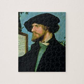 Bonifacius Amerbach, 1519 (huile sur le bois du Puzzle