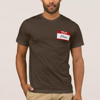 Bonjour mon nom est Blaise (rouge) T-shirt