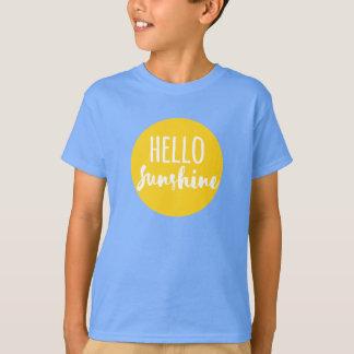Bonjour soleil t-shirt