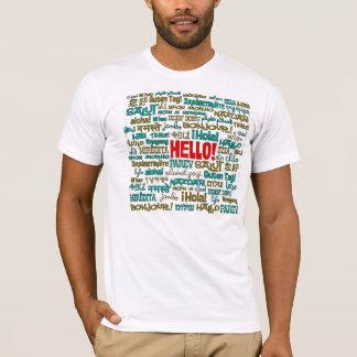 Bonjour T-shirt (de langue multi)