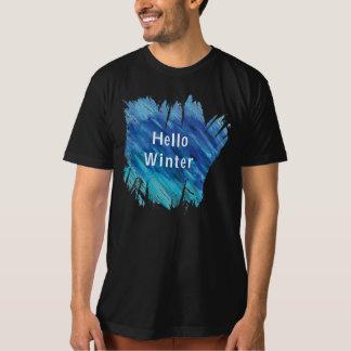 Bonjour T-shirt d'hiver