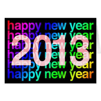 Bonne année 2013 carte de vœux