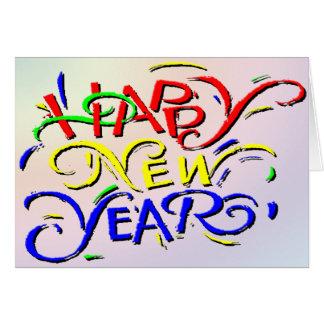 Bonne année carte
