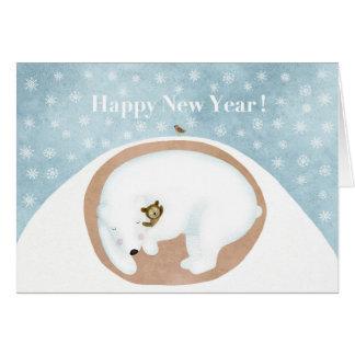 Bonne année ! carte de vœux
