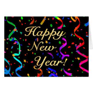 """""""Bonne année ! """"Carte de voeux Carte"""