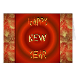 Bonne année chinoise 2011 HNY de nouvelle année Carte De Vœux