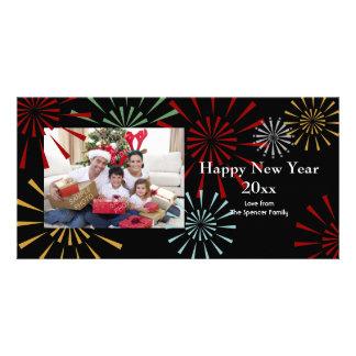 Bonne année Photocards Carte