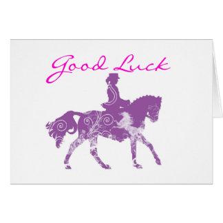Bonne chance avec votre essai ! carte de vœux