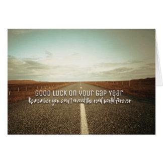 Bonne chance votre année de Gap Carte De Vœux