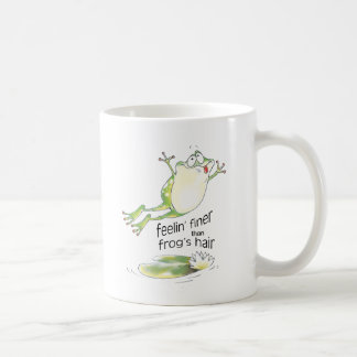 bonne grenouille de feelin mug