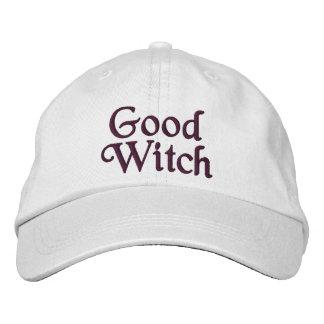 Bonne sorcière casquettes de baseball brodées