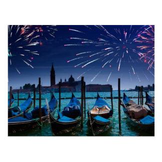 Bonnes années de carte postale de Venise