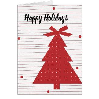 Bonnes fêtes carte de nouvelle année de Noël