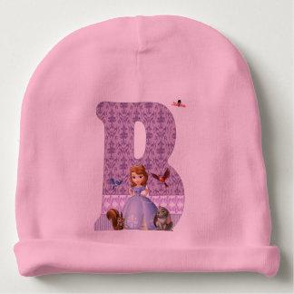 bonnet initial B Bonnet Pour Bébé