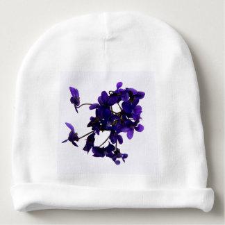 Bonnet Pour Bébé Bonnet de bébé Violettes