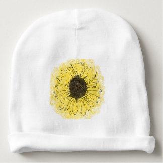 Bonnet Pour Bébé Calotte de bébé de tournesol