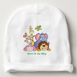 Bonnet Pour Bébé Casquette de bébé--Animaux de jungle