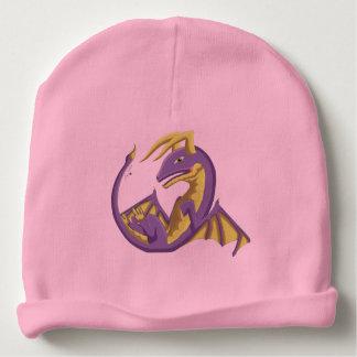 Bonnet Pour Bébé Casquette pourpre de dragon de bébé de Wyvern