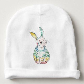 Bonnet Pour Bébé Casquette rayé de bébé de lapin