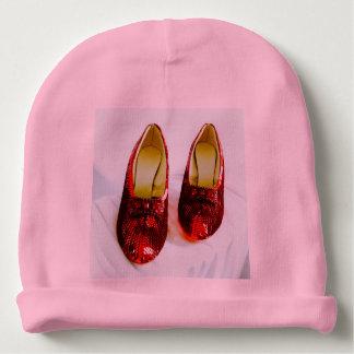 Bonnet Pour Bébé Casquette rouge adorable de bébé de pantoufles !