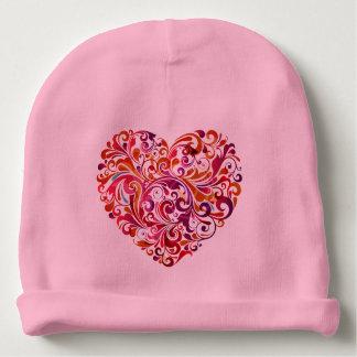 Bonnet Pour Bébé Coeur coloré abstrait