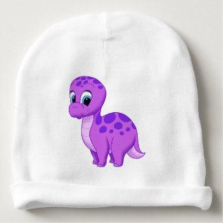 Bonnet Pour Bébé Dinosaure pourpre mignon de brontosaure de bébé