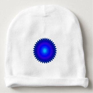 Bonnet Pour Bébé Geo bleu