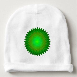Bonnet Pour Bébé Geo'. vert
