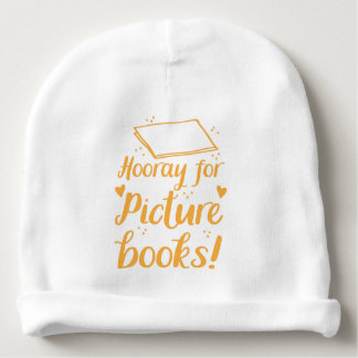 Bonnet Pour Bébé hourra pour des livres d'images