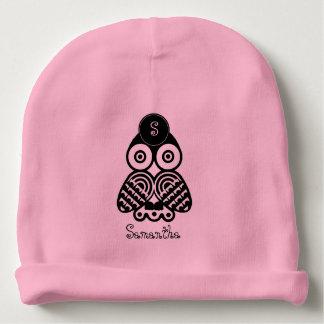 Bonnet Pour Bébé L'initiale et le nom du bébé -