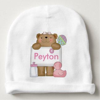 Bonnet Pour Bébé L'ours doux de Peyton