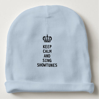 Bonnet Pour Bébé Maintenez calme et chantez Showtunes