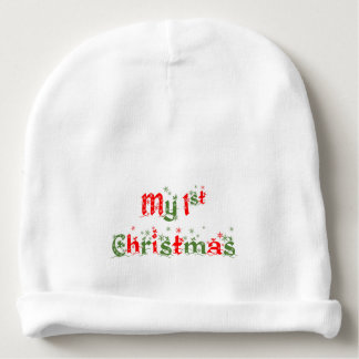 Bonnet Pour Bébé Mon premier casquette de Noël