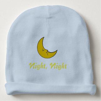 Bonnet Pour Bébé Nuit, nuit, calotte faite sur commande de coton de